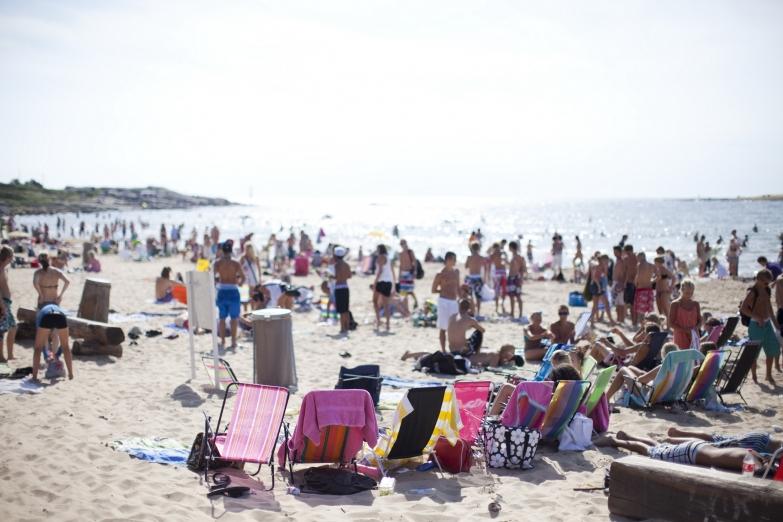 Пляж в Мальме