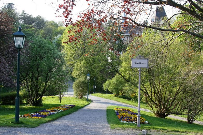 Парк в Бадене