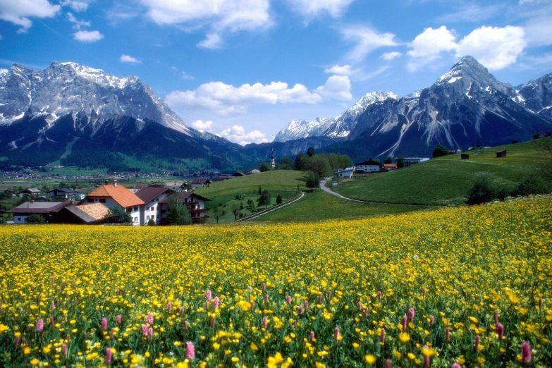 Пейзажи Эльзаса