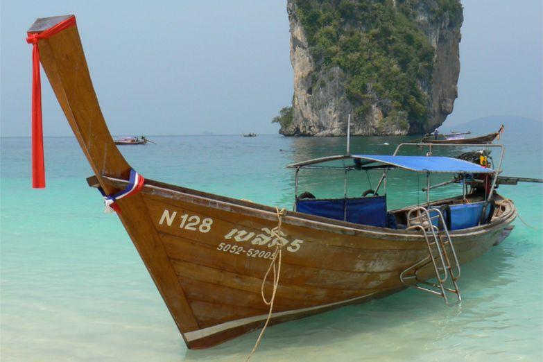 Традиционная длинная лодка