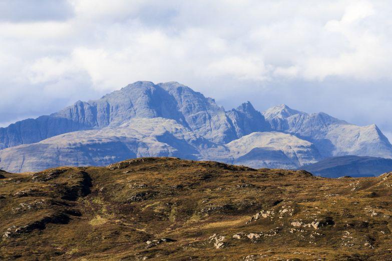 Горы на острове Скай
