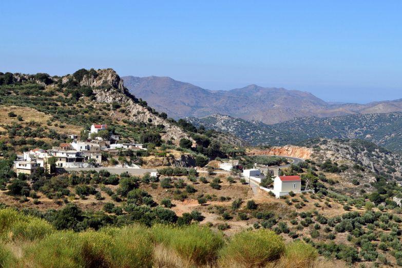 Вид на Крит