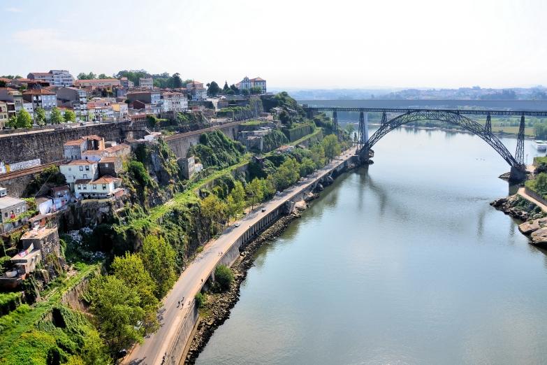 Мост Марии Пии в Порту