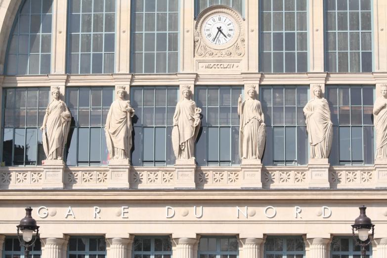 Фасад Северного вокзала