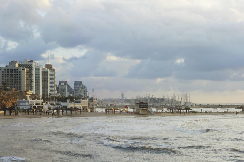 Зима в Тель-Авиве