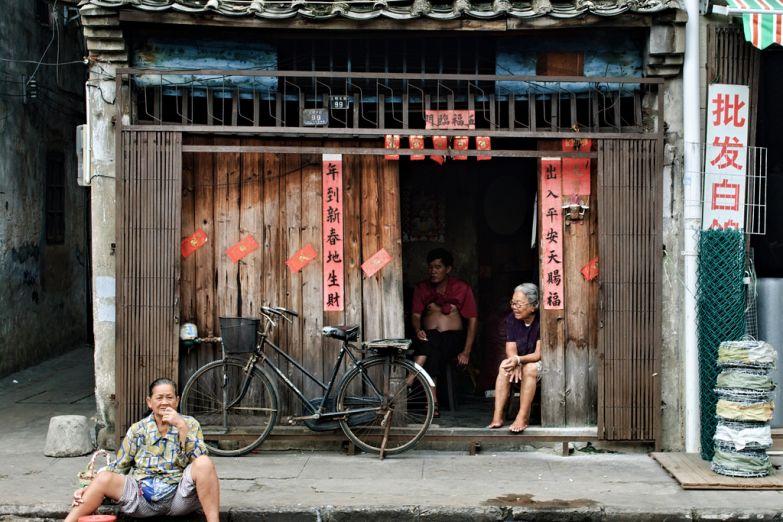 В хайнаньской деревушке