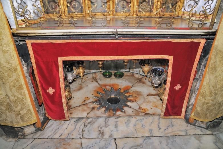 Место рождения Христа в Пещере Рождества