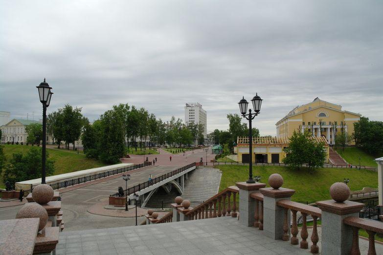 Мост через реку Витьба