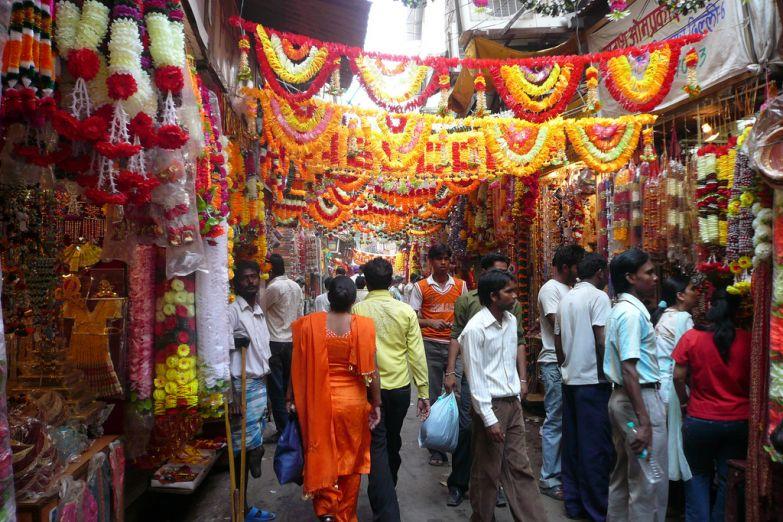 Рынок в Дели