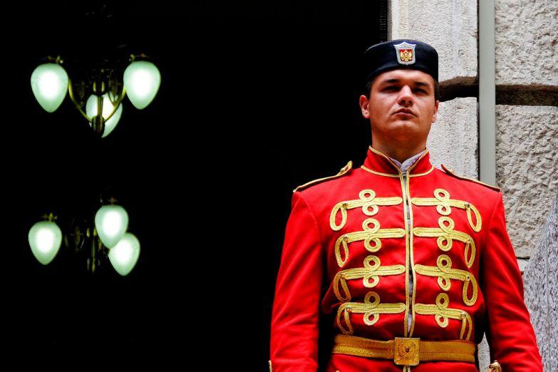Охранник Президентского дворца