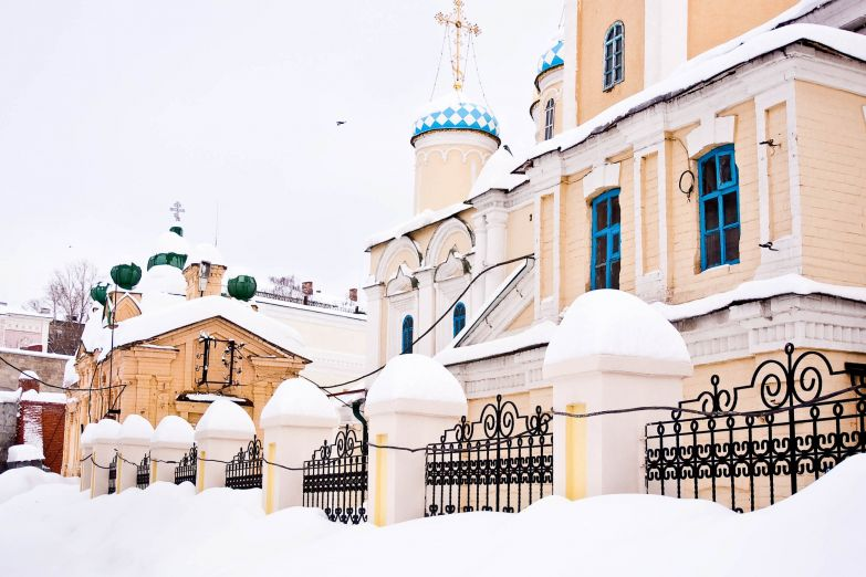 Церковь в Казани