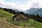 Старинный дом в горах