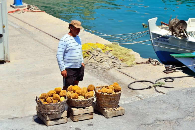 Торговец морскими губками
