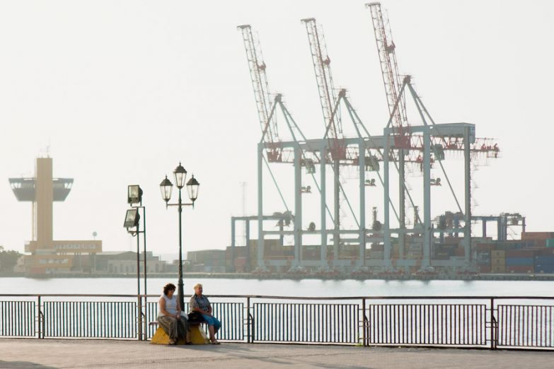 Морской порт