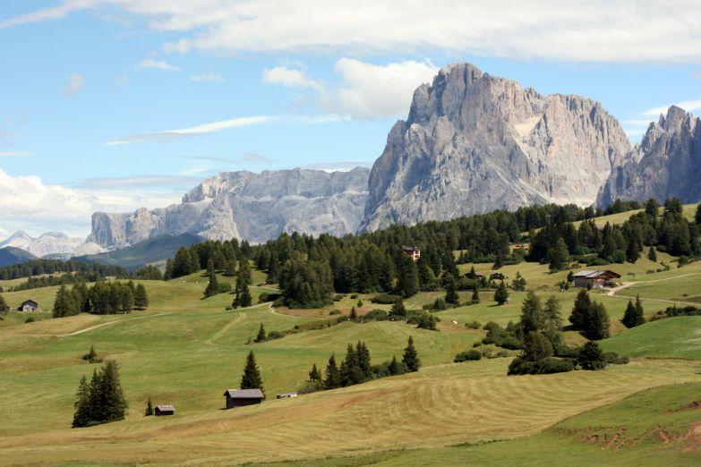 Местечко в Альпах: Альпе-ди-Сьюзи