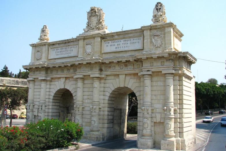 Городские ворота Валлетты