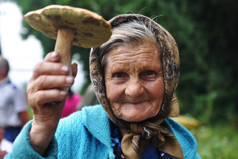 Украинская бабушка