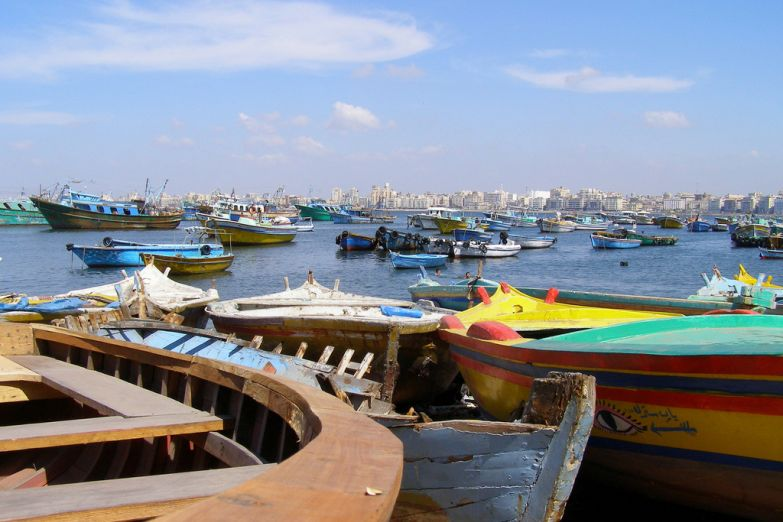 Александрийский порт