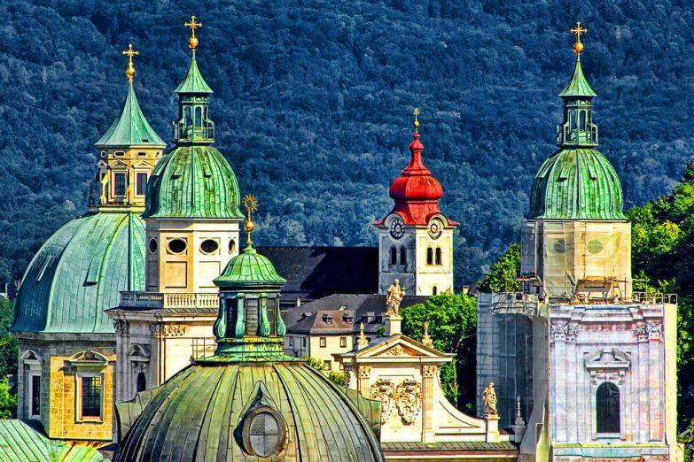 Купола монастыря Ноннберг
