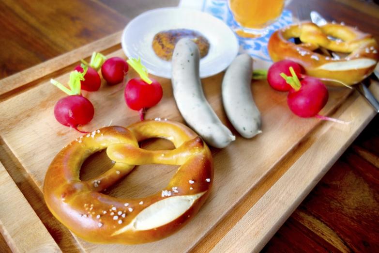 Немецкая кухня во всей красе