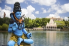 Статуя Шивы на озере Гран-Басен