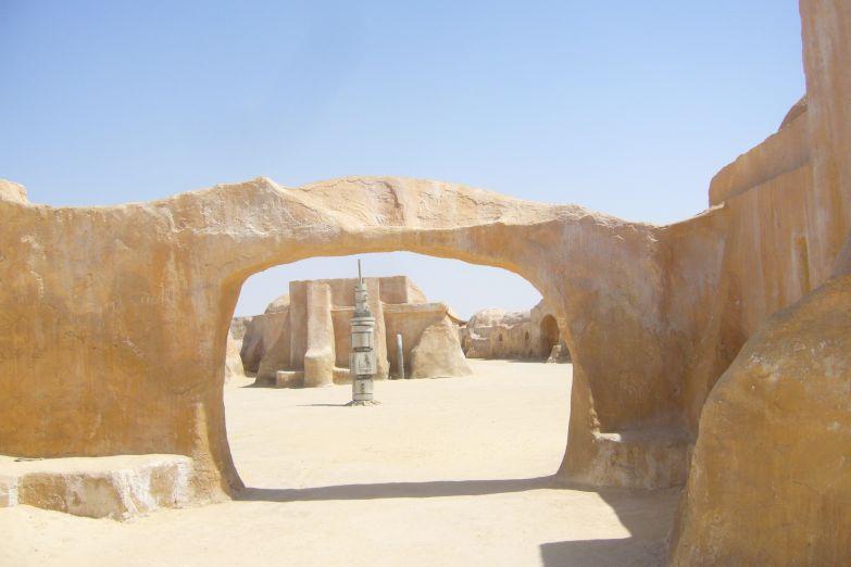 Место где снимали «Звездные Войны»
