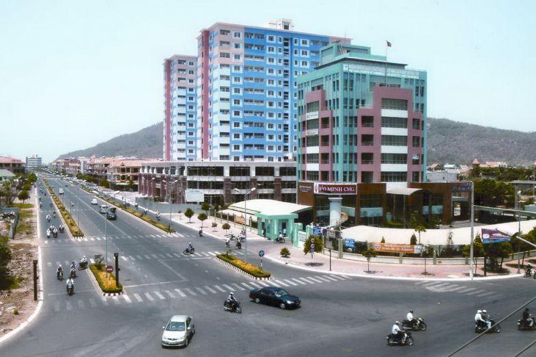 Улица в Вунгтау