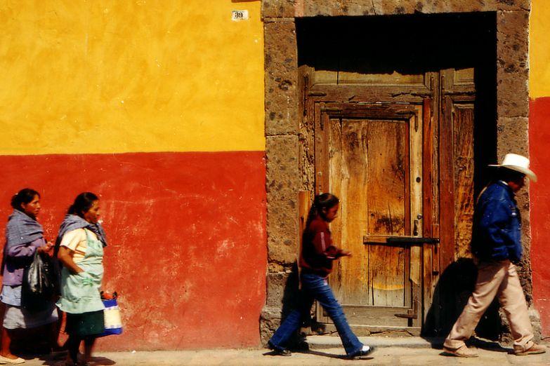 Улица в Мексике