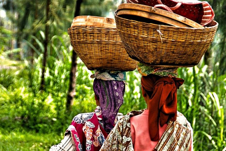 Женщины Явы в традиционных нарядах