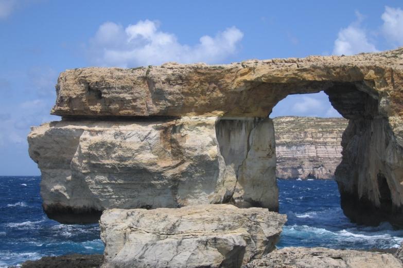 Лазурное окно на острове Гозо