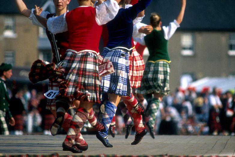 Традиционные танцы горцев Шотландии