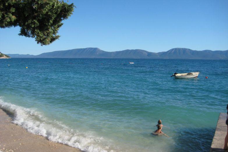 Один из пляжей Сплита