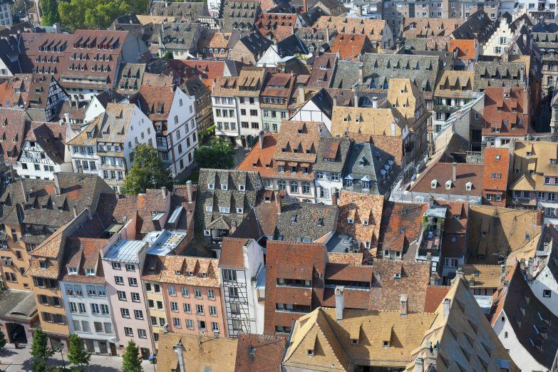 Крыши Страсбурга