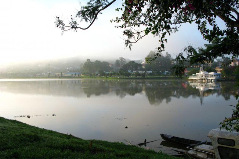 Центральный парк в Далате
