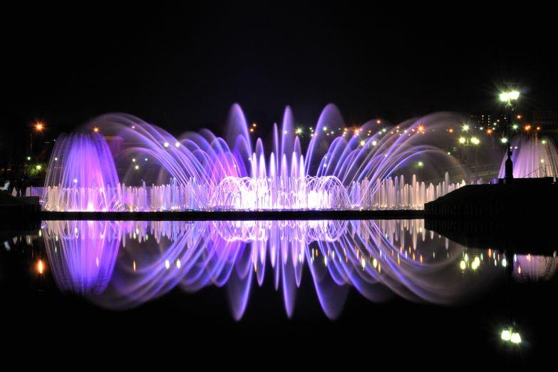 Фонтаны в парке Царицыно