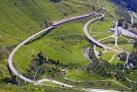 Дорога между Швейцарией и Италией