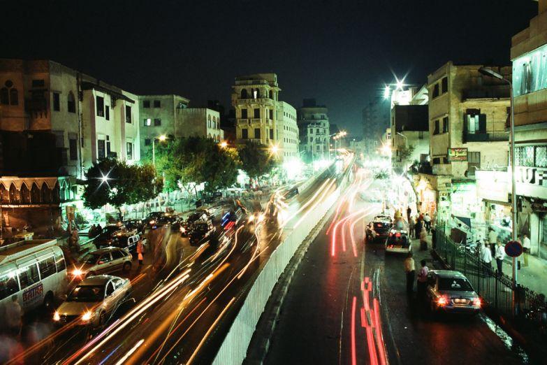 Каир ночью