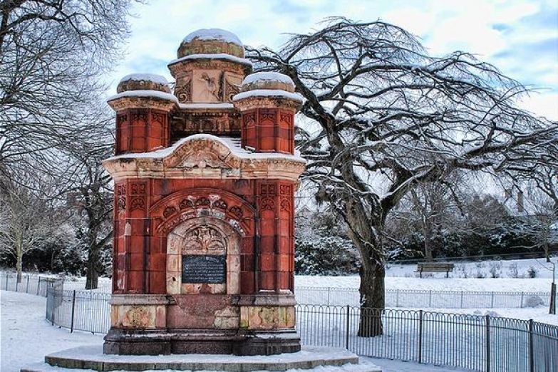 Зимний Королевский парк