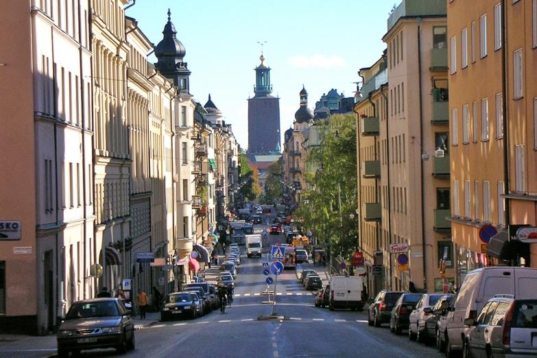 Улица в Стокгольме