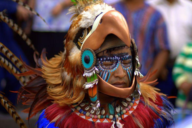 Американец на карнавале