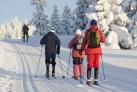 Семейный отдых на лыжах