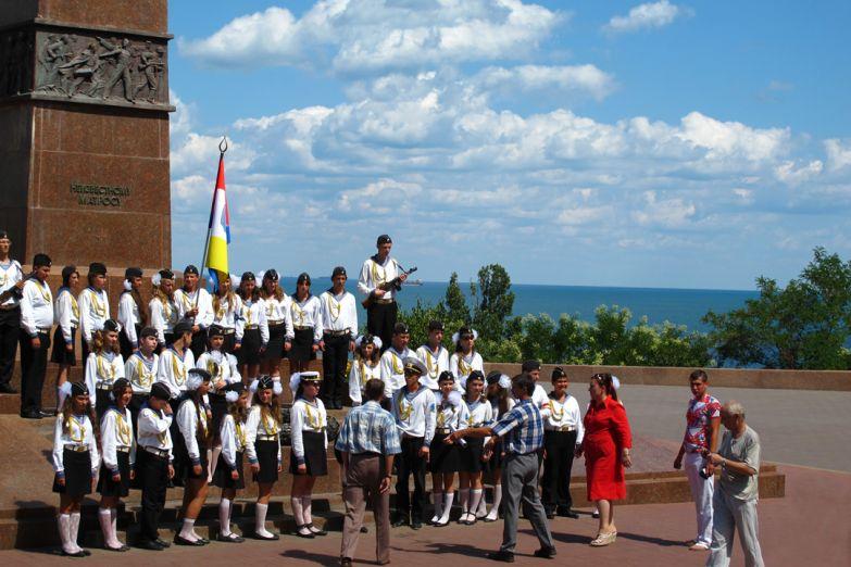 Детский военно-морской хор